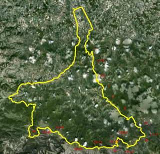 ravna gora srbija mapa Mionica Ravna Gora Maljen Kraljev Sto ravna gora srbija mapa